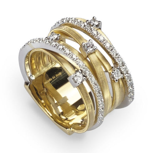 RING IN GOLD AND DIAMONDS