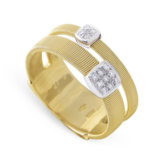 RING MASAI IN GOLD AND DIAMONDS