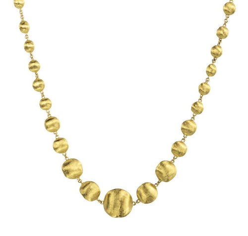 NECKLACE AFRICA IN GOLD