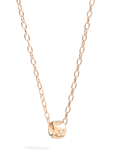 NECKLACE ICONICA IN GOLD AND DIAMONDS