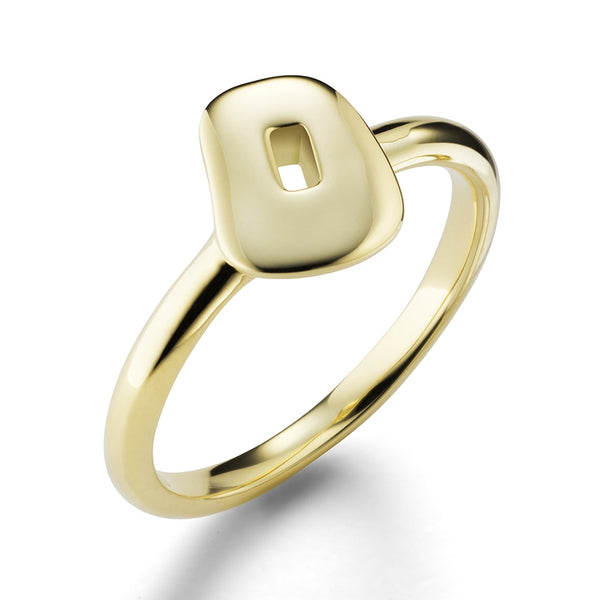 RING PUZZLE IN GOLD