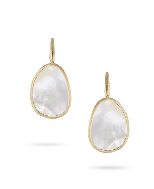 EARRINGS IN GOLD WITH MOTHER OF PEARL