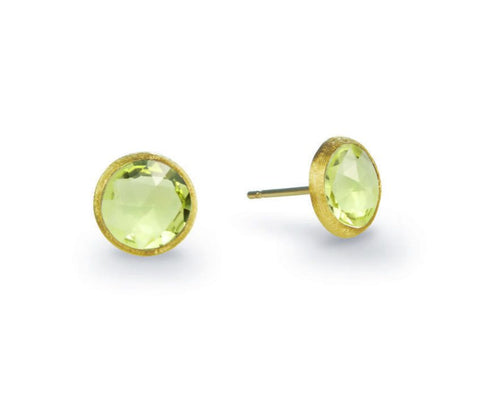 EARRINGS JAIPUR IN GOLD WITH LEMON QUARTZ