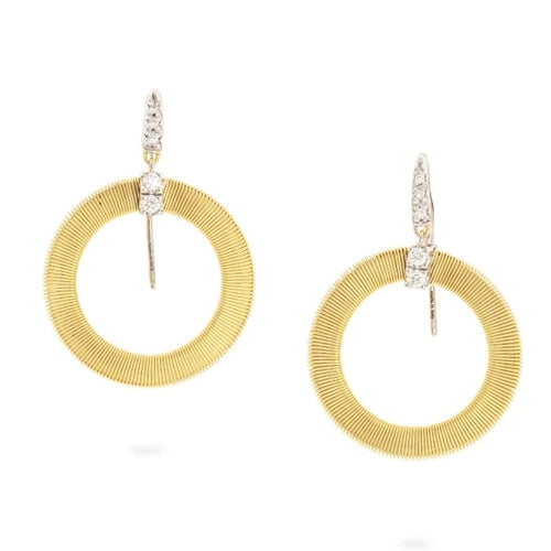 EARRINGS MASAI IN GOLD AND DIAMONDS