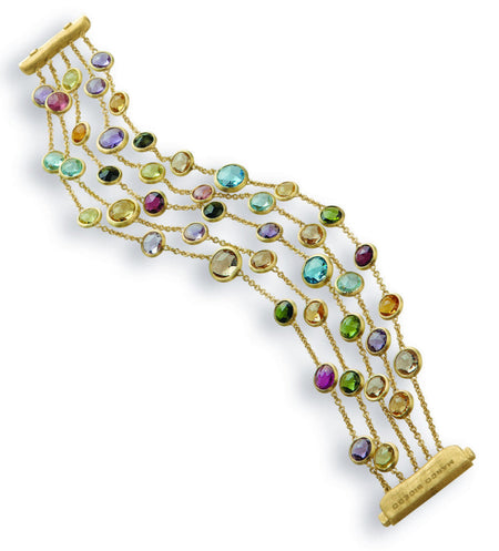 BRACELET MASAI IN GOLD AND DIAMONDS