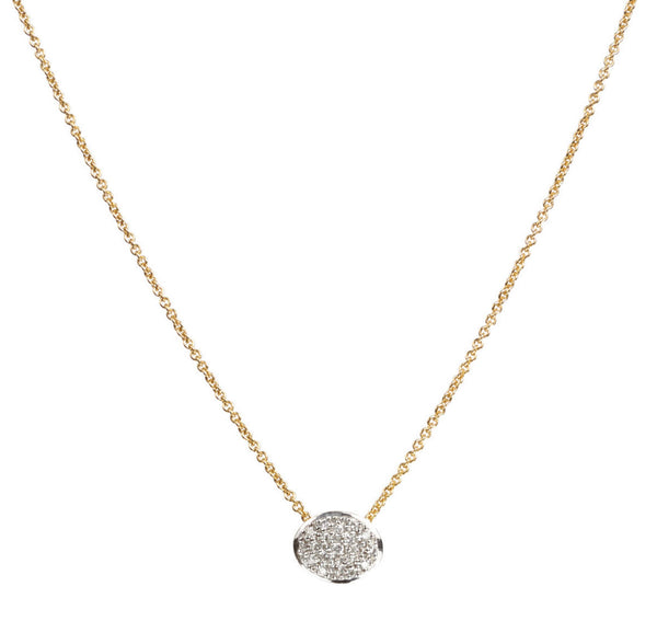 NECKLACE IN GOLD AND DIAMONDS
