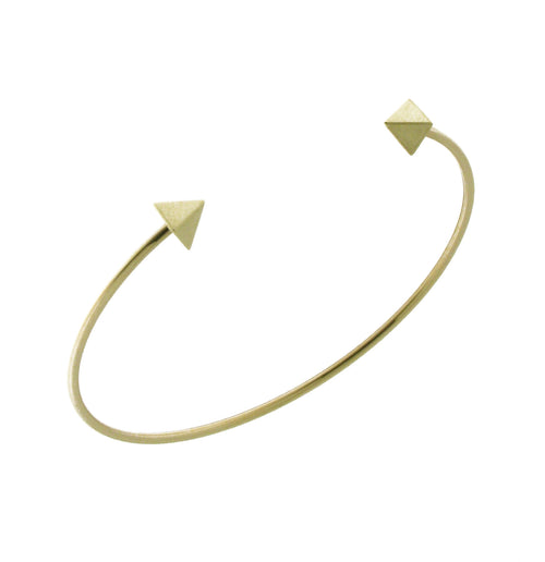 BRACELET SQUARE IN GOLD