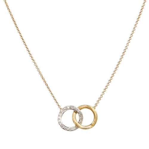 NECKLACE DELICATI IN GOLD AND DIAMONDS