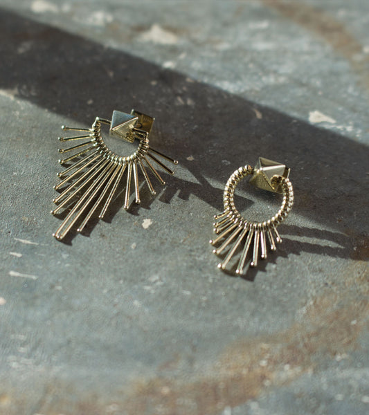 SINGLE EARRING SLIDE IN GOLD