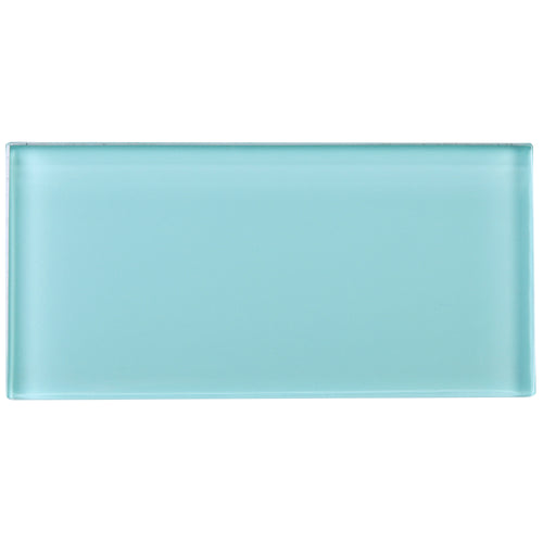 TCSAG-10 3x6 Blue glass subway tile -Kitchen and Bath Backsplash Wall Tile