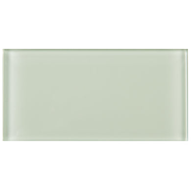 TCSAG-09 3x6 Soft Mint glass subway tile -Kitchen and Bath Backsplash Wall Tile