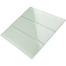TCSBG-09 4x12 Light Mint Glass Subway Tile