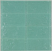 THEG-16 Green 2x4 Subway Tile Glass Mosaic Backsplash Wall Tile