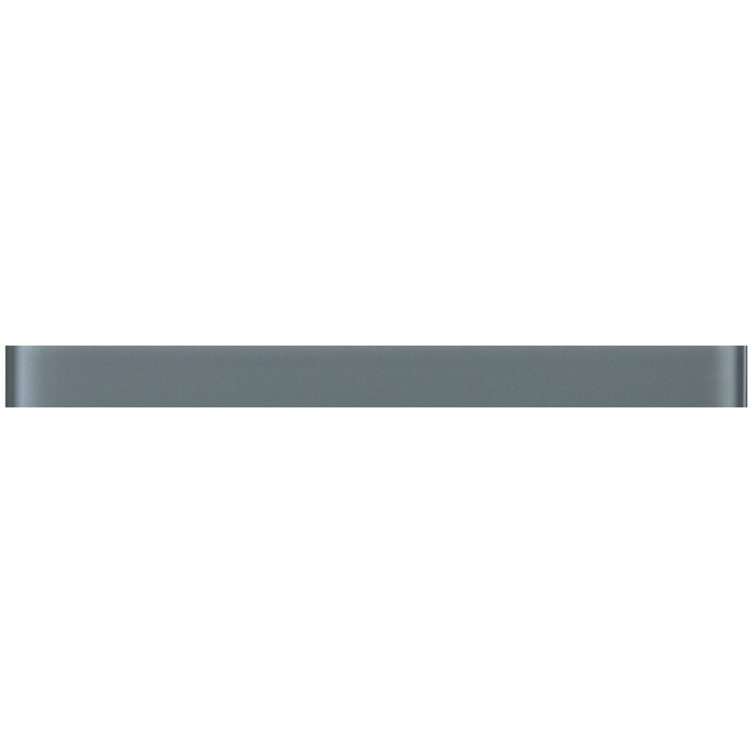 THCG-01 Grey Glass pencil liner trim wall tile 1