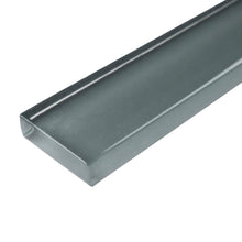 "THCG-01 Grey Glass pencil liner trim wall tile 1""x12"", 1/2""x12"""