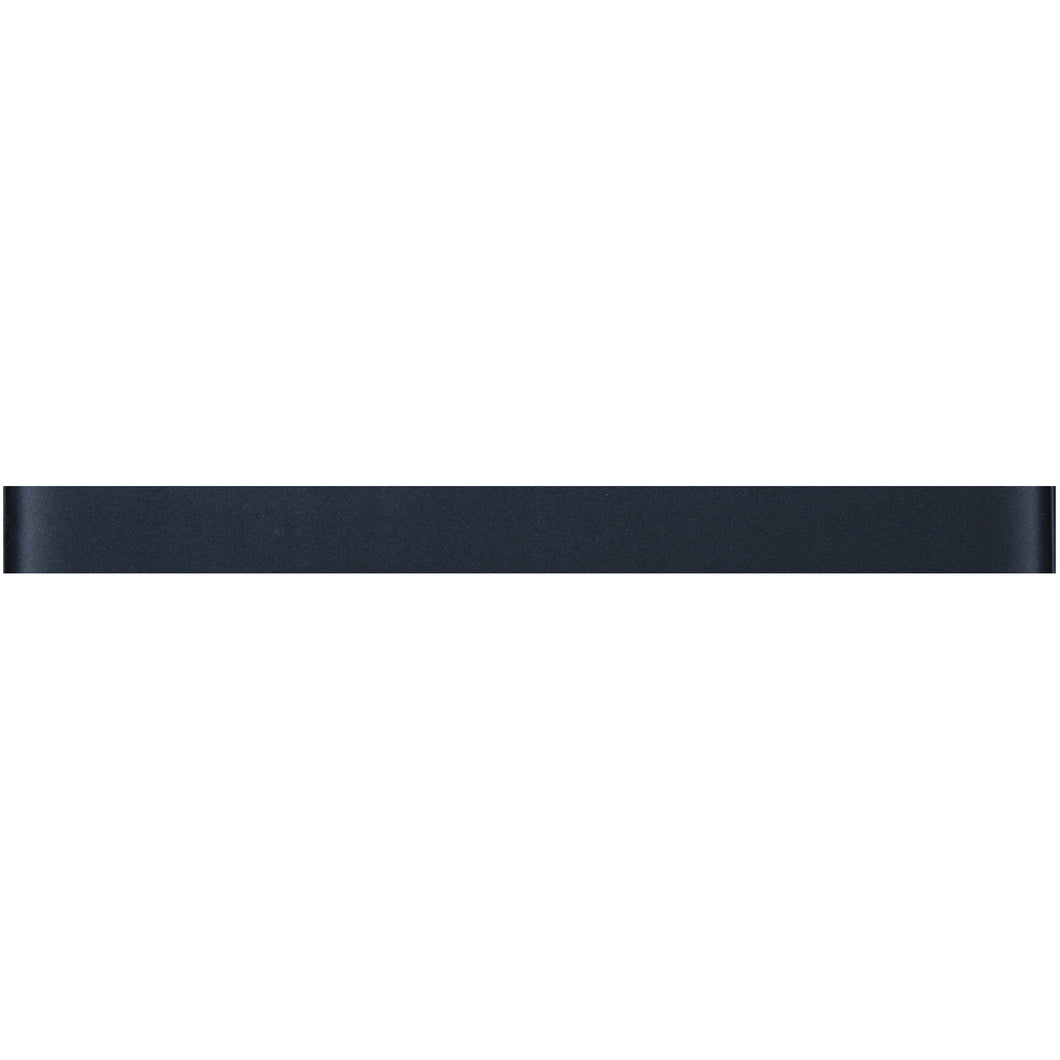 THCG-10 Dark grey glass pencil liner trim wall tile 1
