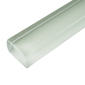 "THCG-15 Light mint pencil liner trim wall tile 1""x12"", 1/2""x12"""