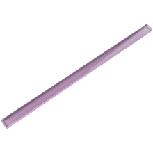 "TCLING-13 Purple Glass Pencil Liner Trim Wall Tile Border 1""x12"", 1/2""x12"""