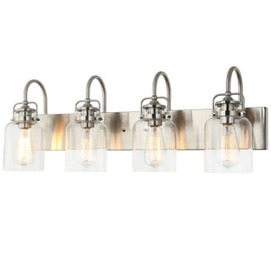WL0004-4 4 Light Dimmable LED Vanity Light Modern Wall Sconces