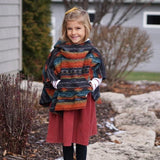 Cold Weather Aztec Poncho