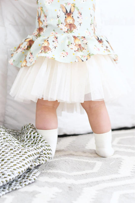 Just off white tutu shorties