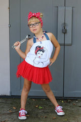 HDG Sunday 8pm cst Tutu Shorties in Red