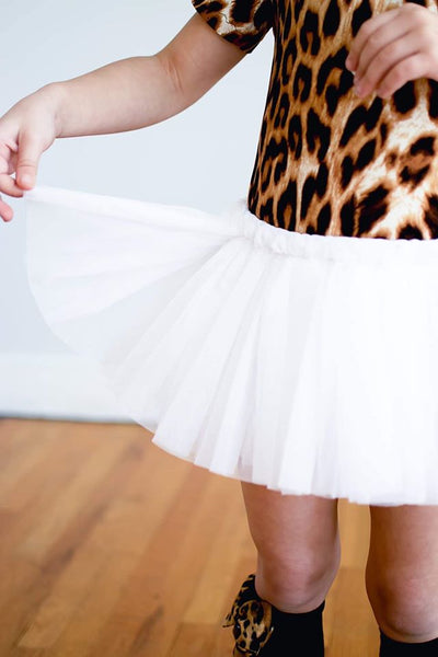 Tutu Shorts in white