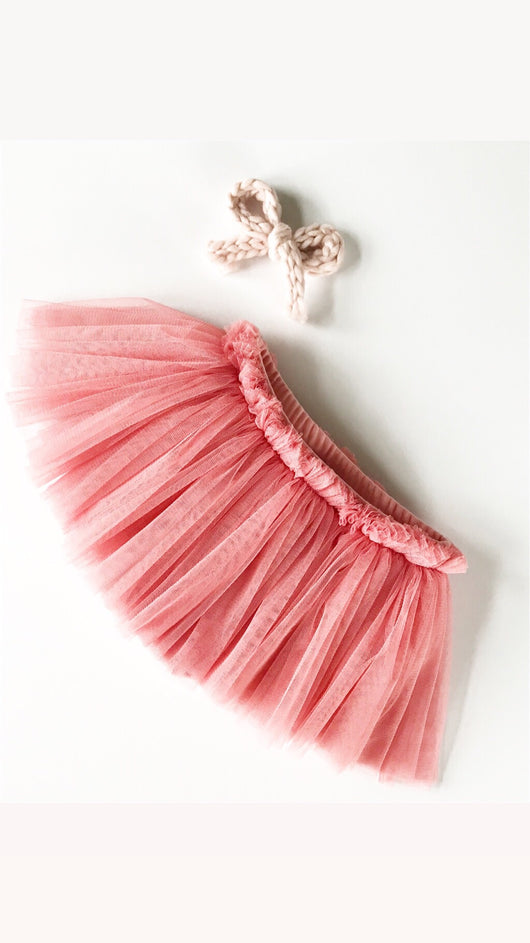 Pretty in Rose Tutu shorties