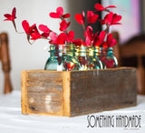 Window Box Center Piece Minnesota Reclaimed