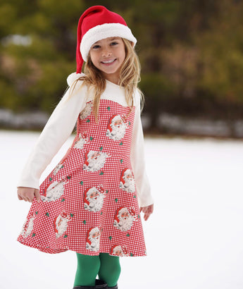 Retro Sweetheart Santa Dress- Pre-order