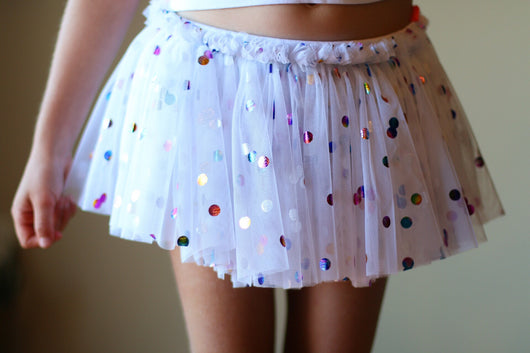 Party Dot Tutu Shorts