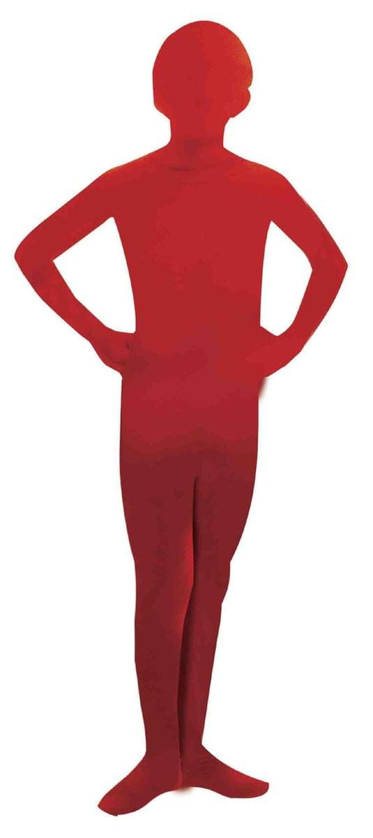 Invisible Man Child Costume Red Skin Suit