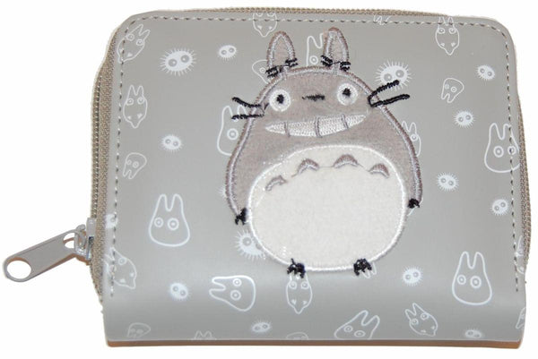 My Neighbor Totoro Embroidered Zipper Wallet