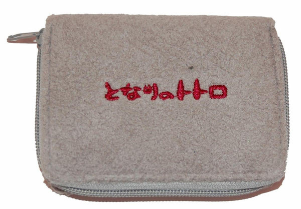 My Neighbor Totoro Plush Gray Wallet