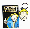 Fallout Vault Boy Head Metal Keychain