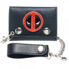 Marvel Deadpool Metal Badge Chain Wallet