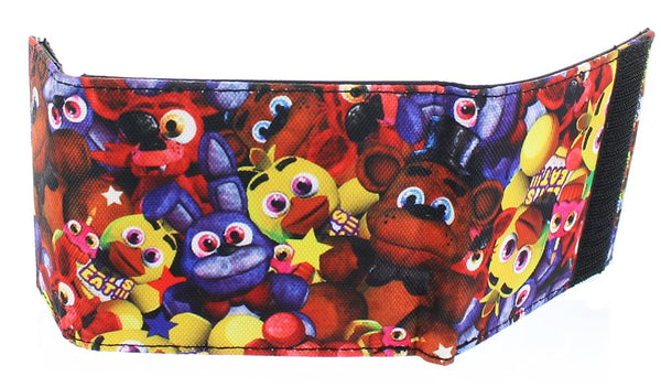 Five Nights at Freddy's Freddy Fazbear Lanyard and Bi-Fold Wallet Bundle