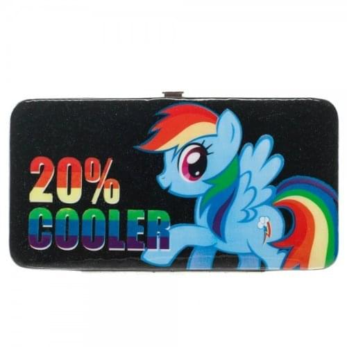 "My Little Pony ""20% Cooler"" Rainbow Dash Hinge Wallet"