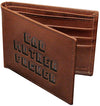 Pulp Fiction Bad Mother F**ker Embroidered Brown Leather Wallet