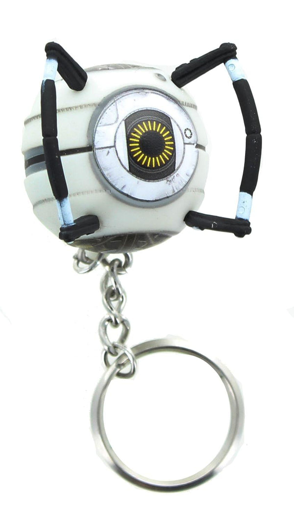Portal 2 Space Sphere Vinyl Keychain Accessory
