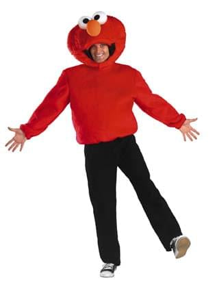 Sesame Street Elmo Adult Costume X-Large 42-46
