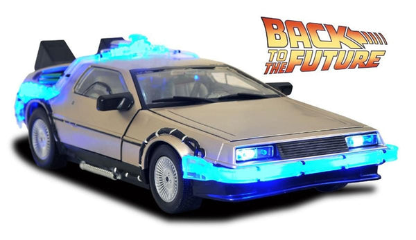 Back to The Future II: Time Machine Car 1:15 Scale Replica