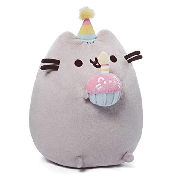 "Pusheen the Cat Birthday Cupcake 10"" Plush"