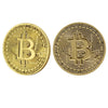 Bitcoin Gold and Bronze Plated Commemorative Collector's Coin Set of 2