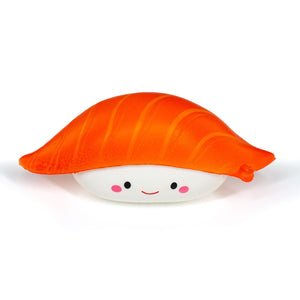 Smiling Salmon Nigiri Sushi Scented Squishy Foam Toy