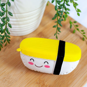 Smiling Tamago Egg Sushi Scented Squishy Foam Toy