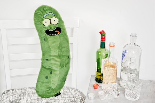 "Rick and Morty 20"" Pickle Rick Plush Pillow"