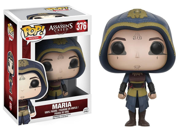 Assassin's Creed Movie Funko POP Vinyl Figure Bundle: Aguilar and Maria