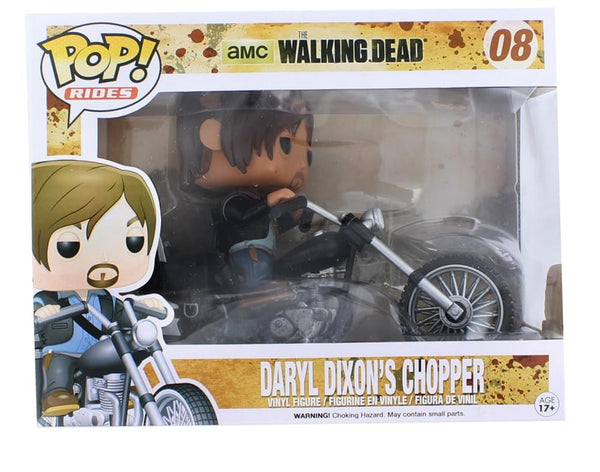 The Walking Dead Funko POP Rides Daryl's Bike