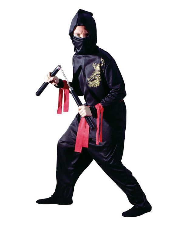 Black Ninja Costume Child Small
